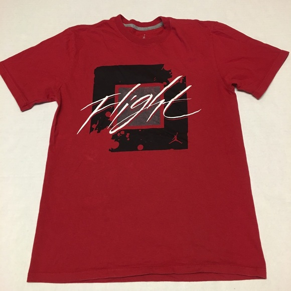 cb0b5ee189e2 Jordan Other - Air jordan brand flight logo red black t shirt